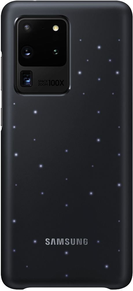 Чехол Smart LED Cover Galaxy S20 Ultra черный фото