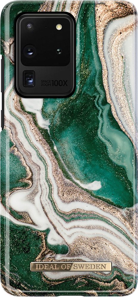 Чехол для Galaxy S20 Ultra, Golden Jade Marble фото