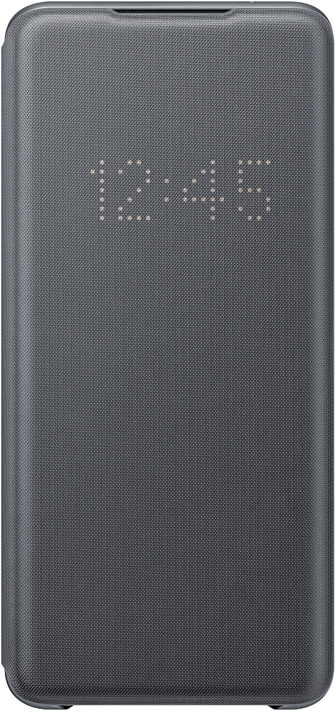 Чехол-книжка Smart LED View Cover Galaxy S20 Ultra серый фото