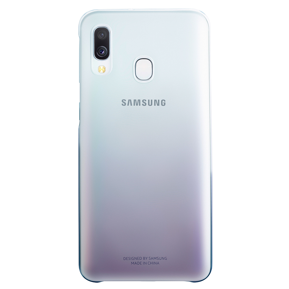 Чехол Gradation Cover Galaxy A40 черный фото